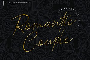 Romantic Couple // Elegant Signature