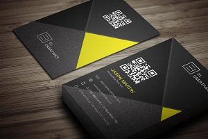 Dark Creative Business Card