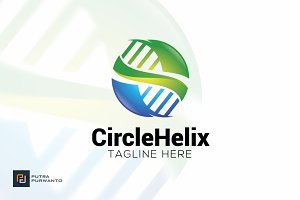 Circle Helix - Logo Template