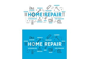 Home repair tools and equipment