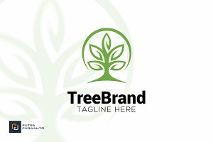 Tree Brand - Logo Template