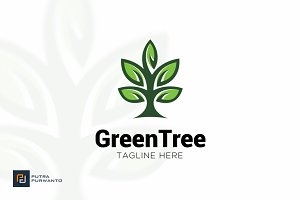 Green Tree - Logo Template