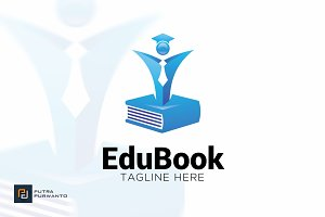 Edu Book - Logo Template