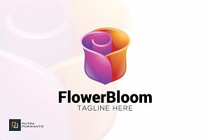 Flower Bloom - Logo Template