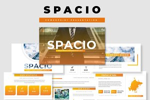 Spacio Business Powerpoint Template