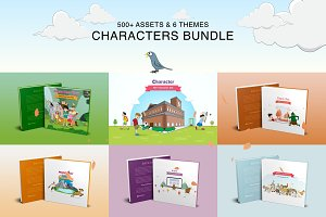 Storry Telling Characters Bundle