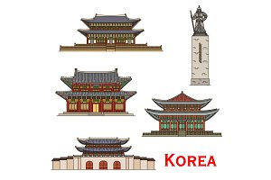 South Korea Seoul Travel landmarks