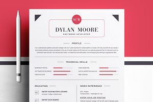 Modern and Clean Resume Template
