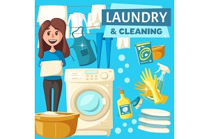 Laundry and cleaning service