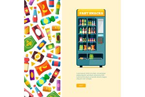 vending machine. automatic sale of