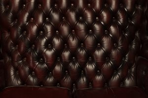 luxury brown leather sofa background