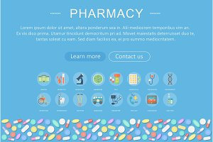 Medicine pharmacy healthcare concept