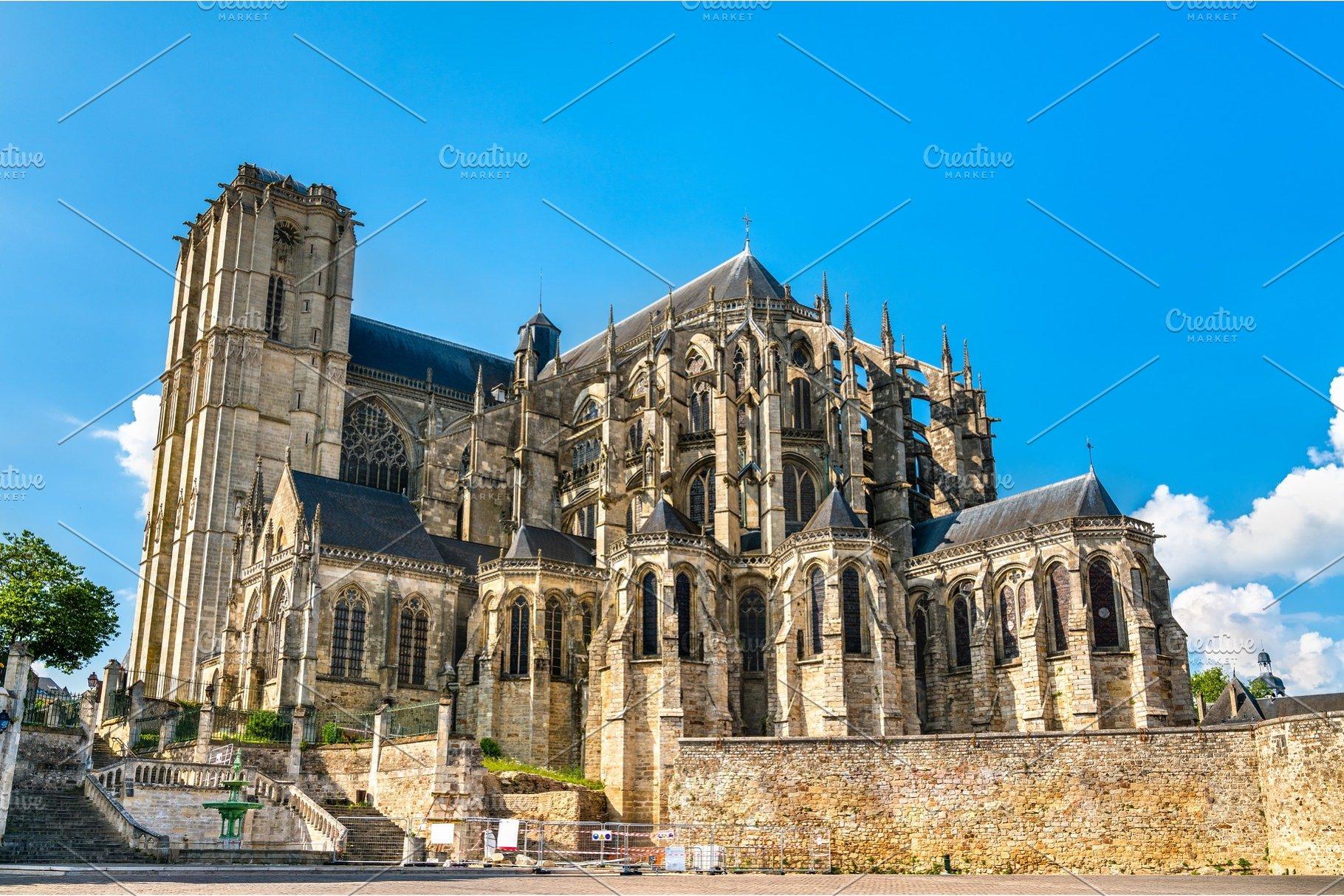 Architecte Le Mans saint julien cathedral of le mans in