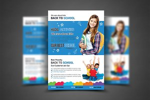 Education Flyer Print Templates