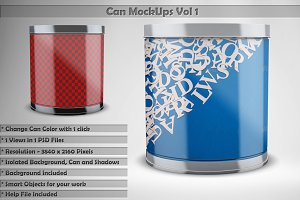 Can Mock Up Vol 1