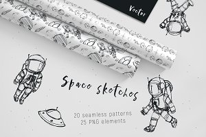 Space sketches and patterns