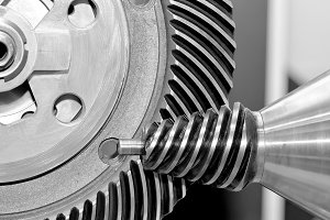 Industrial conical gears