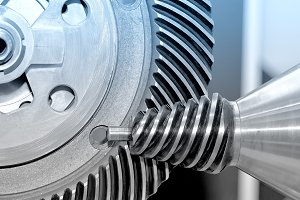 Industrial conical gear