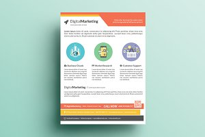 Creative Marketing Flyer V18