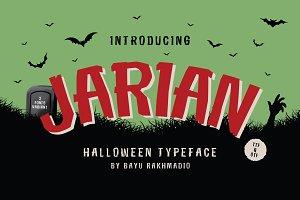 JARIAN &#x3B; Halloween Typeface