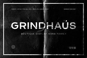 Grindhaus Display Sans