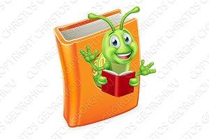 Caterpillar Bookworm Worm in Book