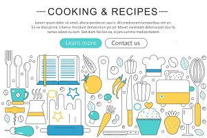 Cooking & recipes concept.