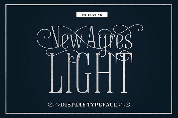 Best New Ayres Light Vector