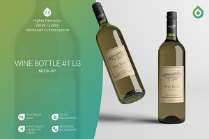 Wine Bottle LG Mock-Up #1 [V2.0]