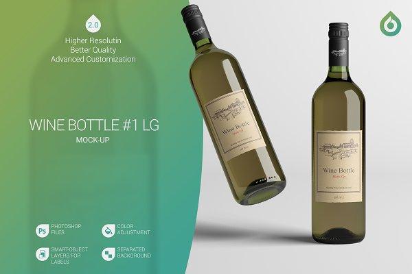 Wine Bottle LG Mock-Up #1 [V2.0]