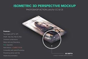 Isometric 3D Perspective Mockup .atn