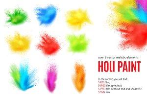 Holi Paint Set