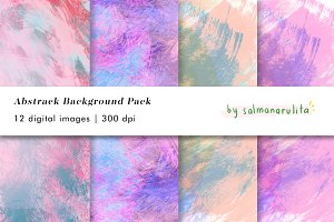 12 Abstract Texture Backgrounds