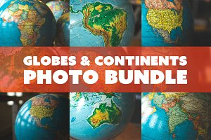 Globe and Continent Bundle