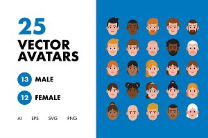 25 Friendly Character Avatars