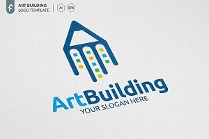 Art Building Logo