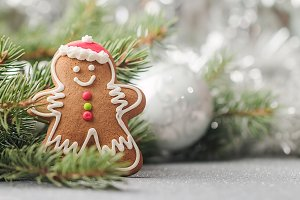 Christmas Gingerbread man