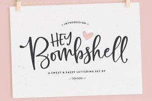 Hey Bombshell Font Family