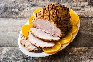 Honey Glazed Ham