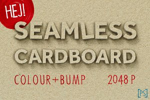 SEAMLESS CARDBOARD