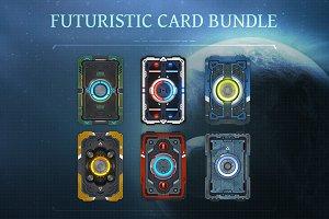Futuristic Card Bundle