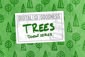 Tree Doodles Pack