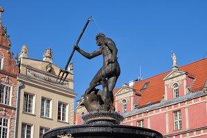 Neptune God of The Sea Statue