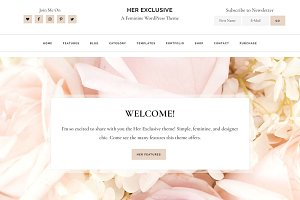 Her Exclusive WordPress Theme