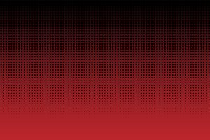 black dots on red background