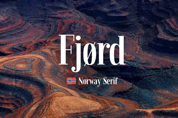 Serif Fonts: kavoon - Fjørd Serif