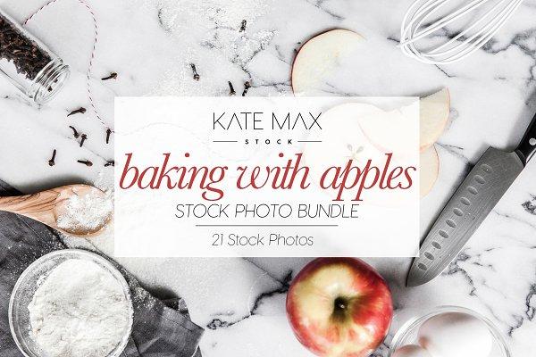 Baking With Apples Stock Photo Bund…