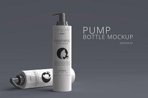 Pump Bottle Mockup 01