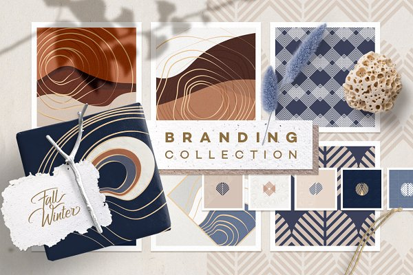 Patterns: Polar Vectors - Fall/Winter Branding Collection