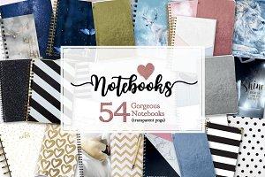Notebooks and Glitter Books Galore